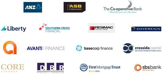 financial provider logos